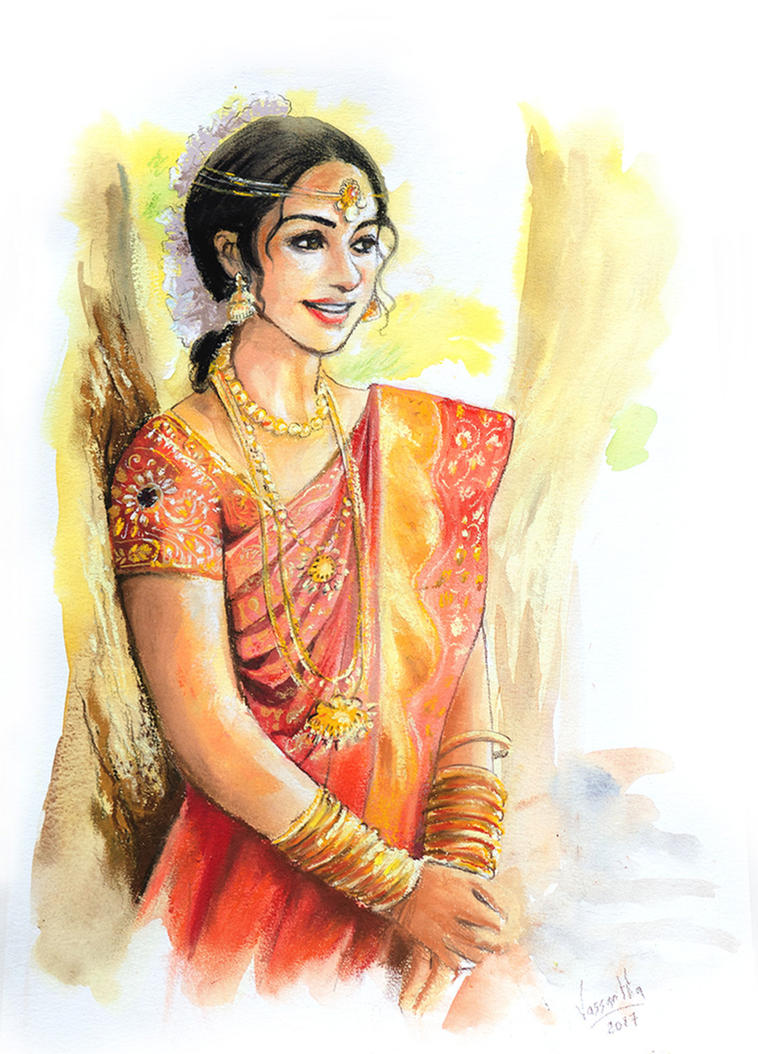 A bright smile by Vassantha