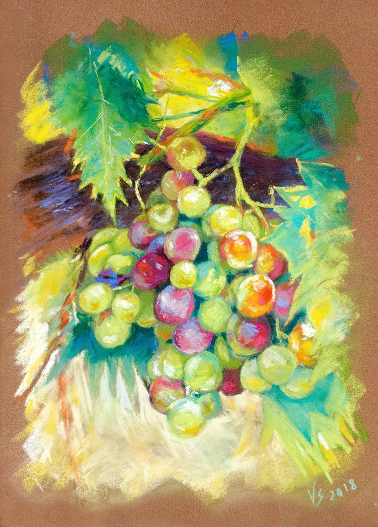 Amboise grape by Vassantha