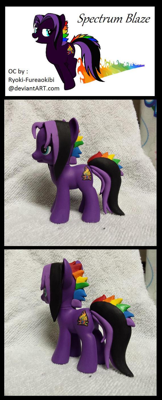 Custom Pony: Spectrum Blaze by SaltESweet