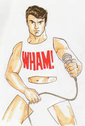 Day 8 - George Michael by BloodySamoan
