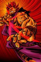 Akuma colours by BloodySamoan