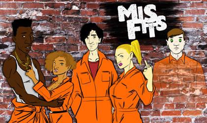 Misfits by BloodySamoan