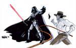 Darth Vader vs Indiana Jones