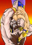 Street Fighter x Tekken suplex