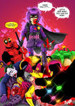 Hit Girl - Deadpool variant