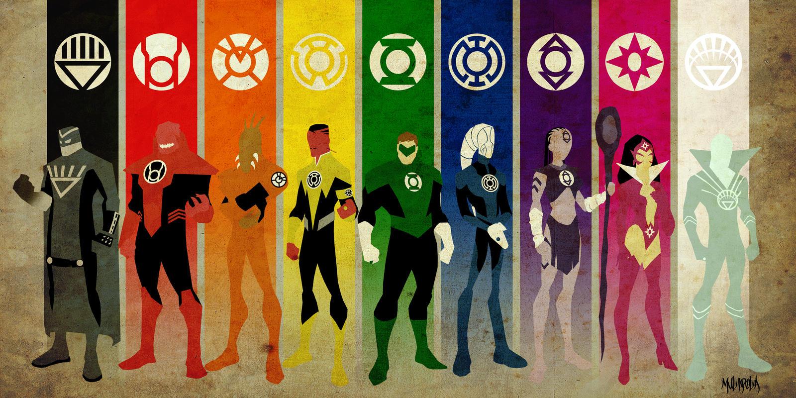 Lantern Corps ultra print by BloodySamoan