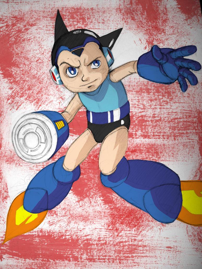 Mega Boy - Astro Man colour by BloodySamoan on DeviantArt