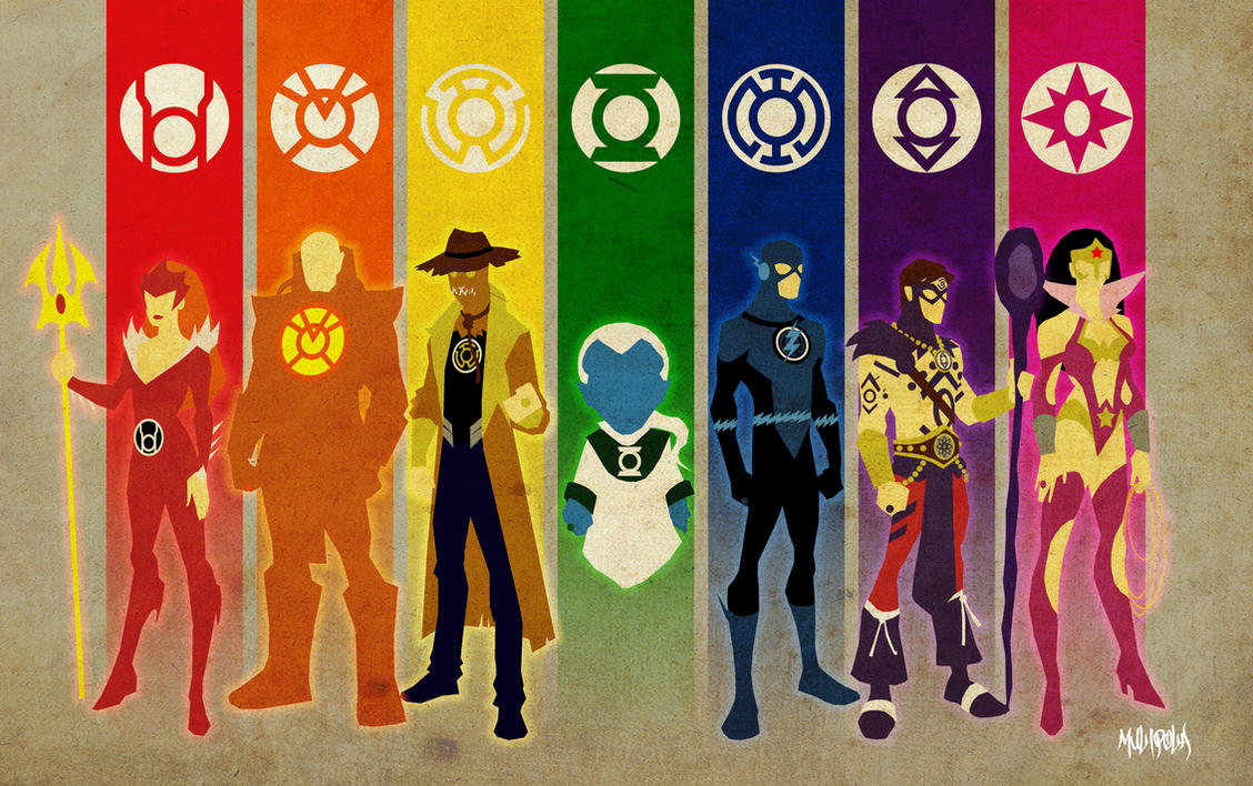 New Guardians Lantern Corps by BloodySamoan