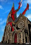 Spider-Man Christchurch piece