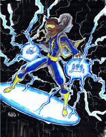 Static Shock by BloodySamoan