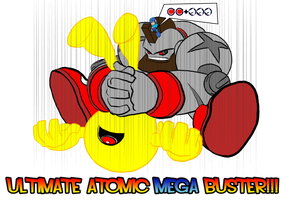 Mega Man-Gief by BloodySamoan