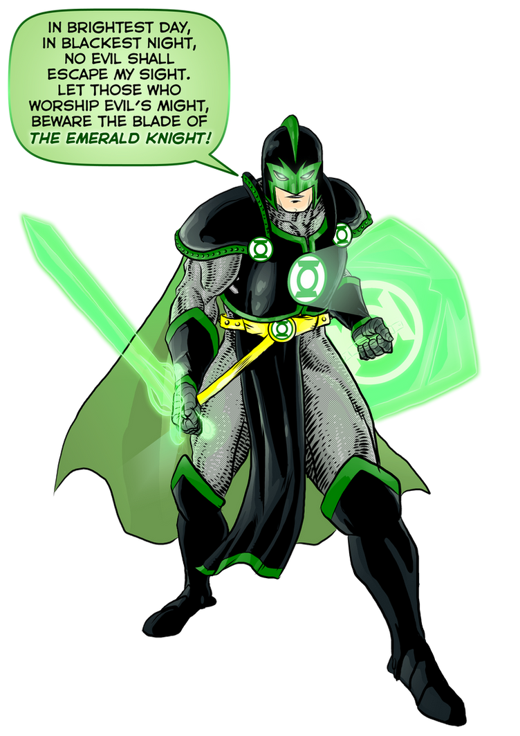 The Emerald Knight by BloodySamoan
