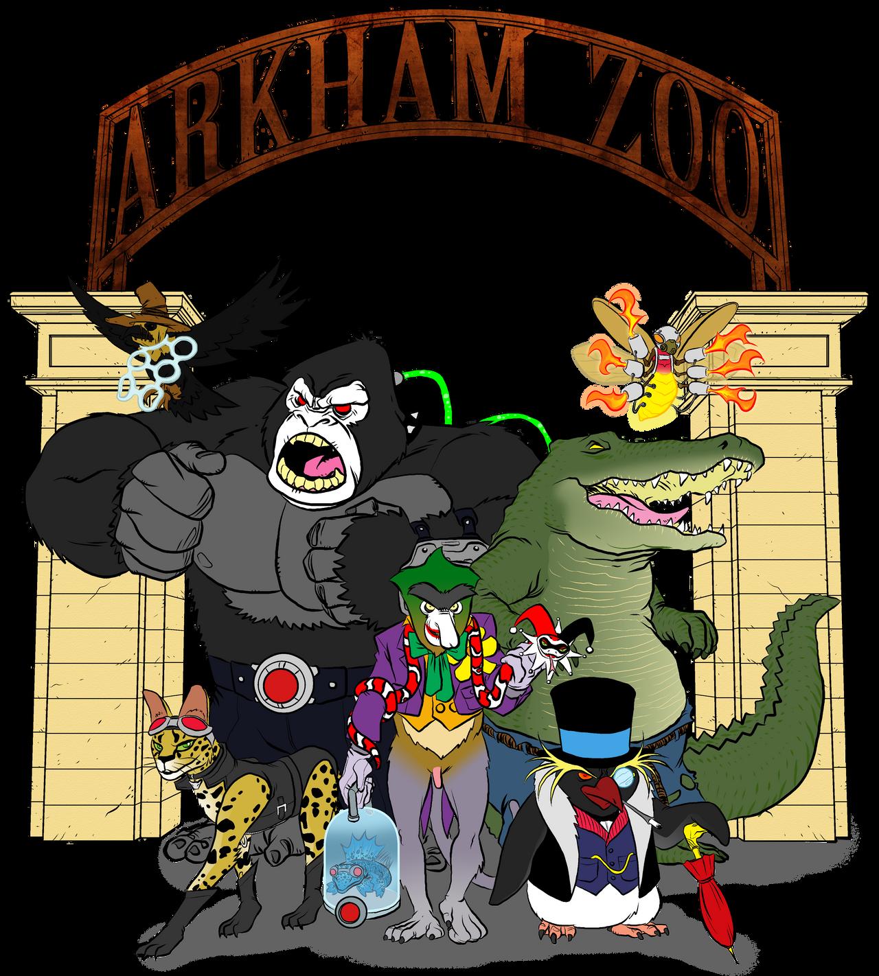 Arkham Zoo Skratch Jam by BloodySamoan