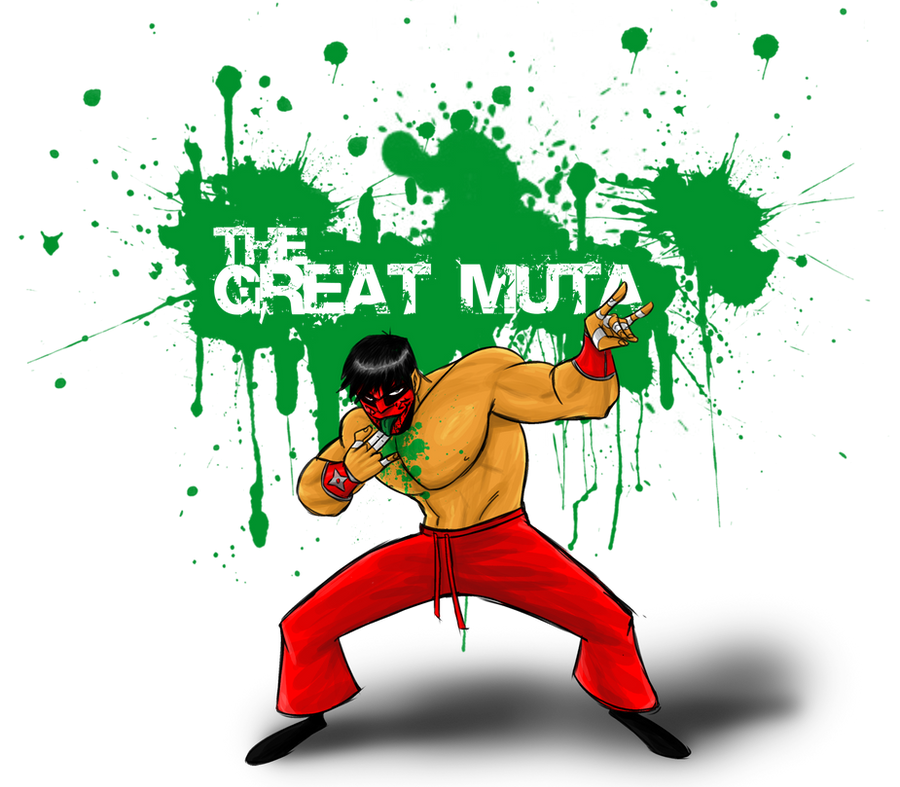 Day 28: The Great Muta by BloodySamoan
