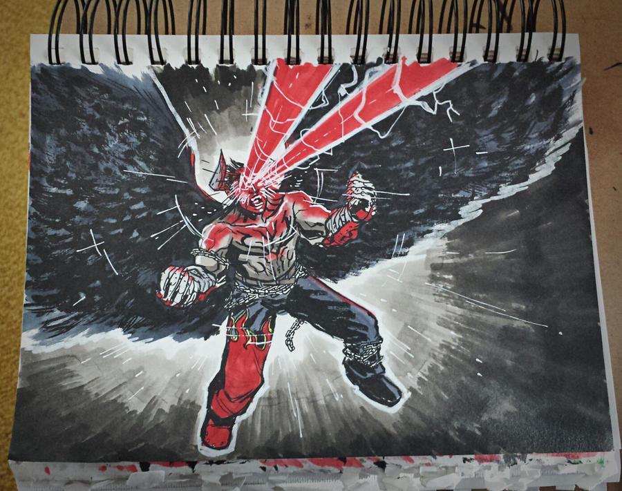 DDF2014 Round 32 - Devil Jin by BloodySamoan on DeviantArt