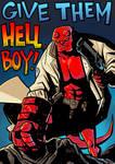 Hellboy 20th Anniversary tribute