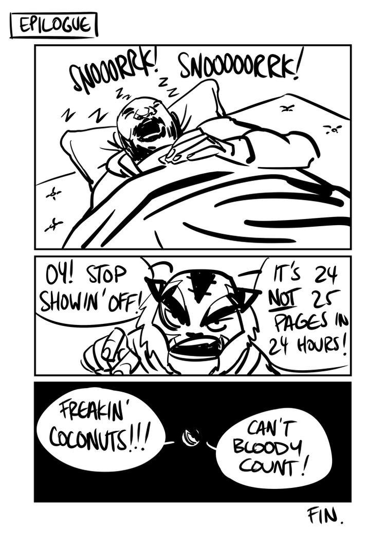 24hr Comic pg25 by BloodySamoan