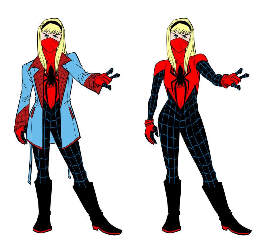 Dan Slott's Spider-Gwen by BloodySamoan