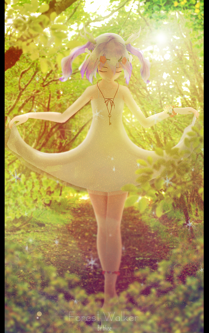 Forest Walker by h4ise