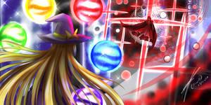Magic Vs Science- Yumemi vs Marisa!