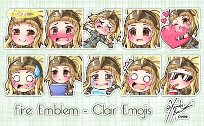 Emoji Commission - Clair Emojis