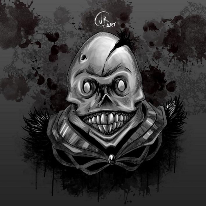 skull happy by juank91