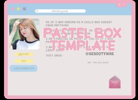 + pastel box template /id @sebootywae by sebootywae