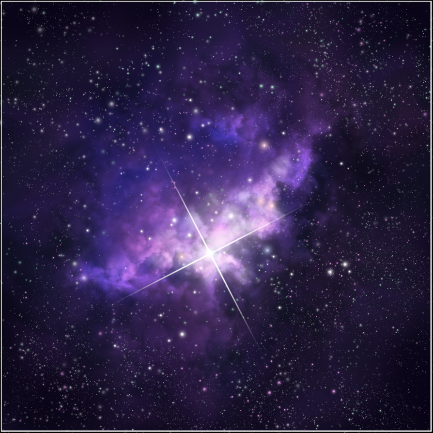 fiery nebula purple - photo #20