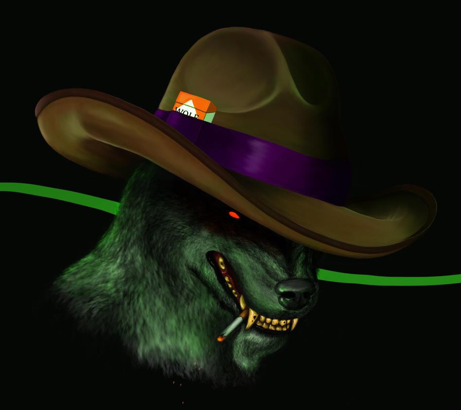 Cowboy Werewolf Portrait! by aylap