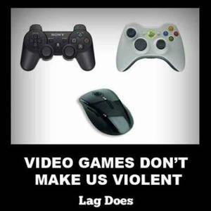 Video Games don't make us violent