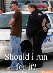 Should he run? by cosenza987