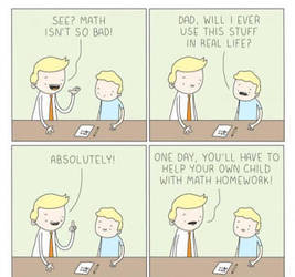What are you going to use math for? by cosenza987