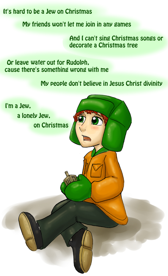 SP - A Jew on Christmas by Salmagundi-Sweet on DeviantArt