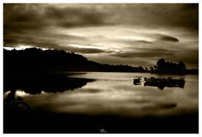 peeping sunrise by jfarchaul