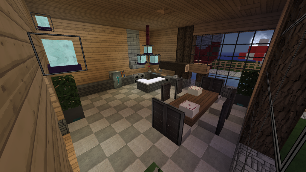 Minecraft kitchen by flaredblaziken711 on deviantart for Kitchen ideas minecraft