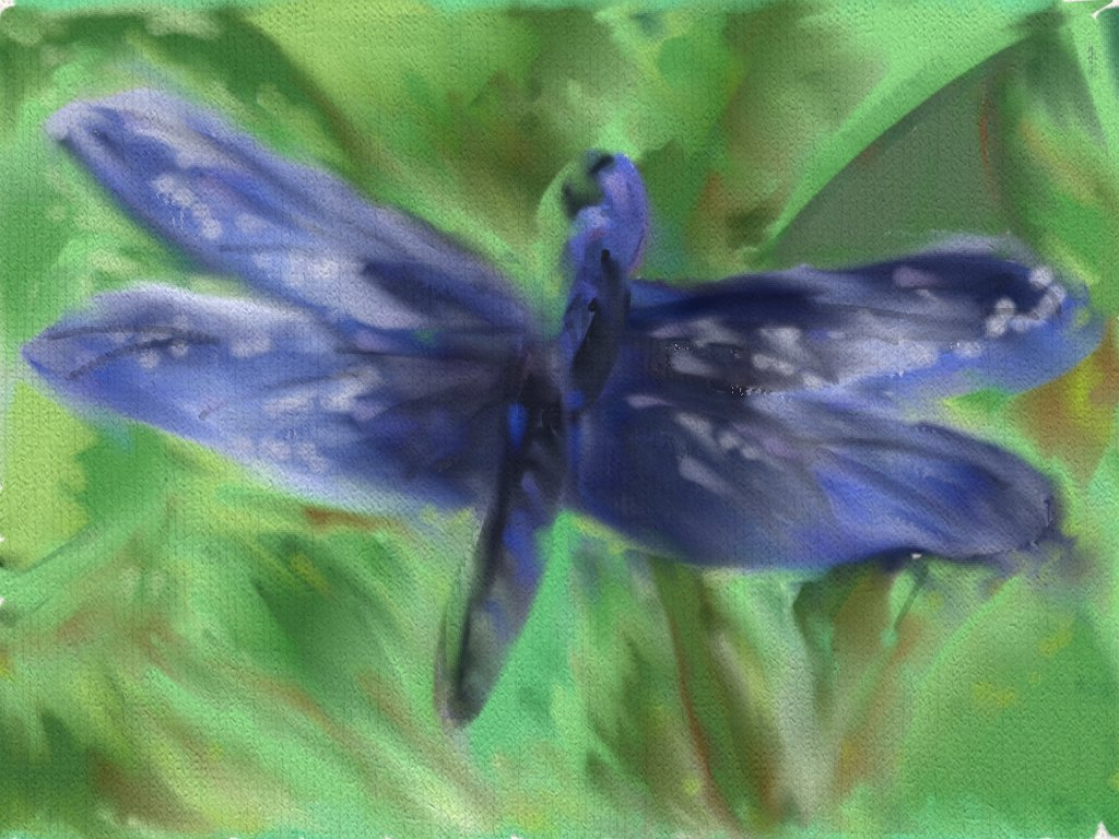Dragonfly Blue by majykwolfe