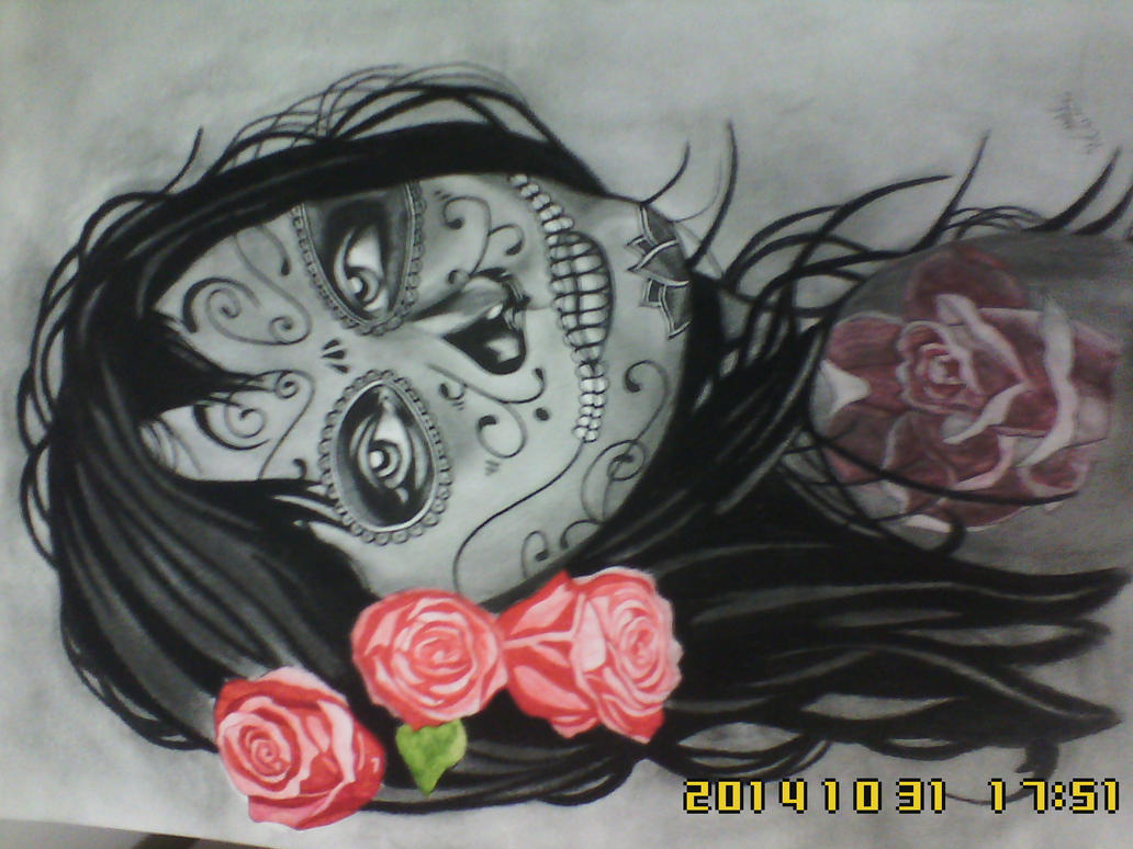 Desenho catrina tattoo by rayprotechno on deviantart for Tattoo shop etiquette