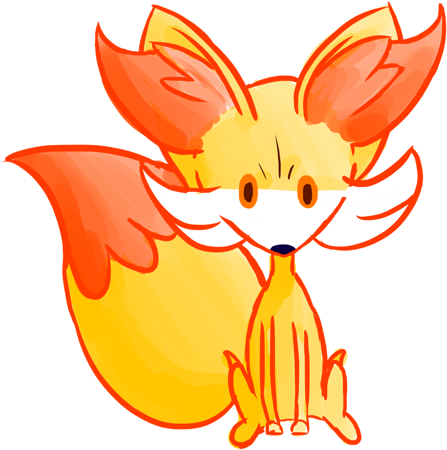 fennekin coloring pages - the gallery for chespin coloring pages