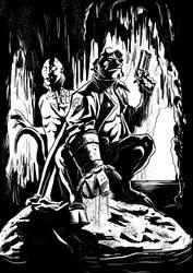 Hellboy ink