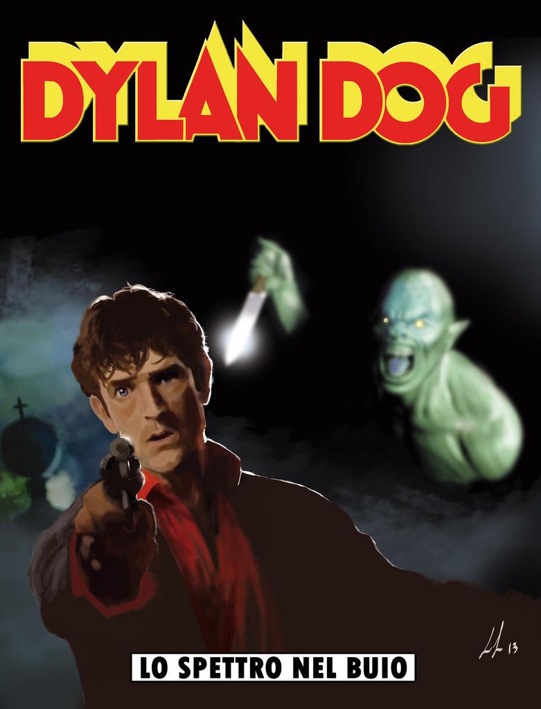 Cover reloaded dylan dog lo spettro nel buio by zarro83 - Dylan dog attraverso lo specchio ...