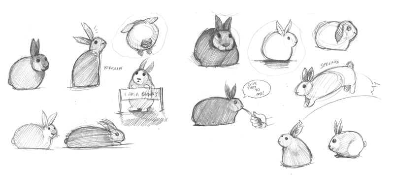 Cute Bunny Art  BinkyBunnycom  House Rabbit Information Forum