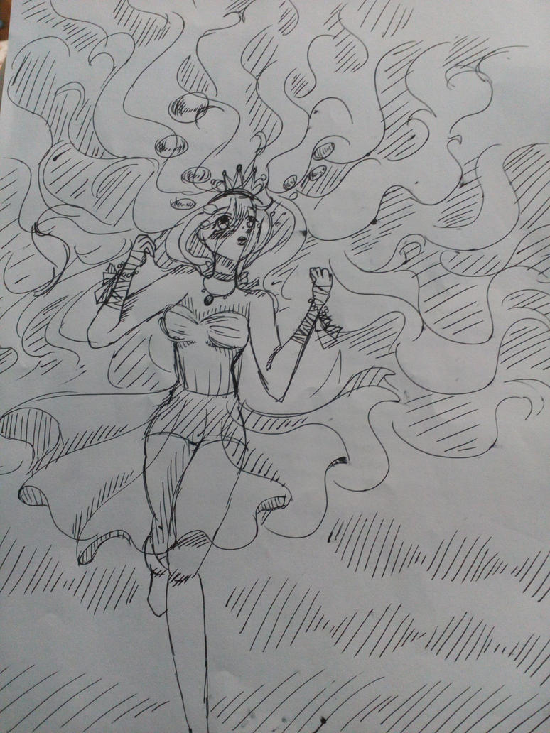 Water princess by Darkittycat13