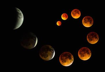 Lunar Eclipse by schmoo15