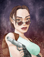 Lara Croft by schmoo15