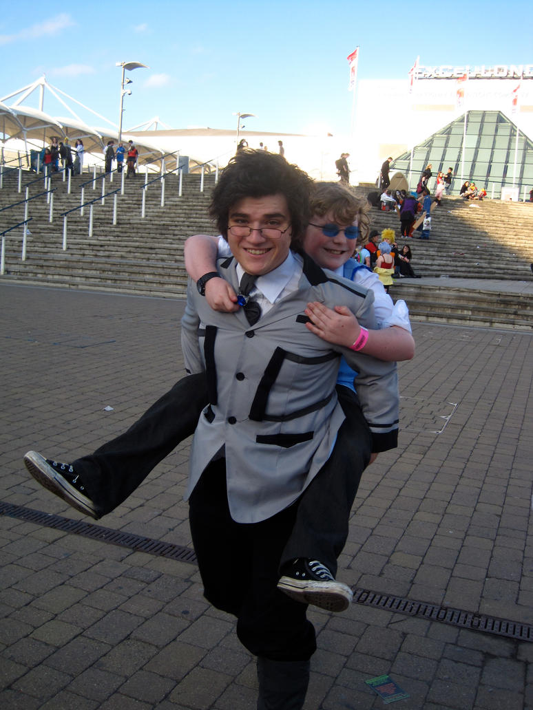 MCM Expo 2011 - Piggyback by Cubie-Panda