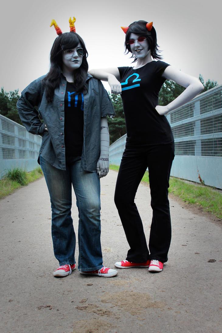Scouge Sisters by Cubie-Panda