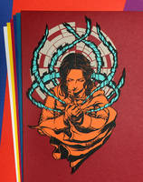 Papercutting Art : Jyn Erso / Rogue One by Yuki-Shibaura