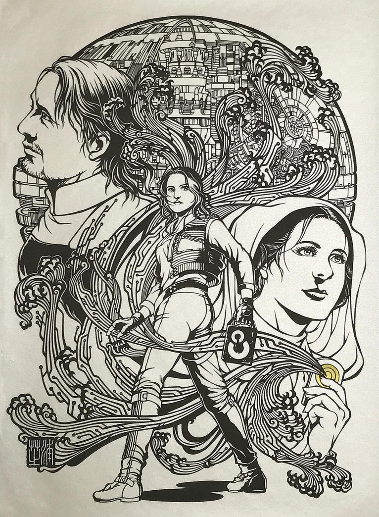 Papercutting Art : The Hope / Rogue One by Yuki-Shibaura