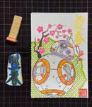 New Year Card 2021: STAR WARS/ BB8 by Yuki-Shibaura