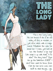 The Long Lady (Ava's journal)